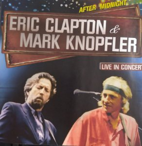 CD - Eric Clapton & Mark Knopfler - Live In Concert
