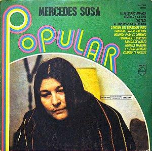 LP - Mercedes Sosa – Popular (Stereo / Mono) - Importado (Argentina)