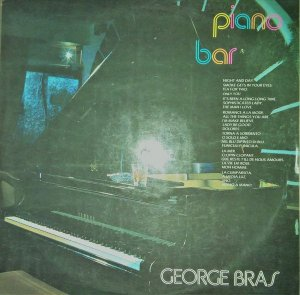 LP - George Bras ‎– Piano Bar