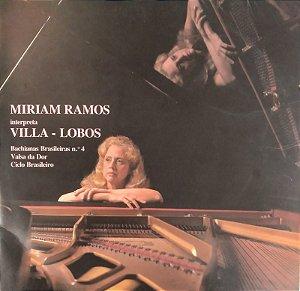 Lp - Miriam Ramos Interpreta Villa - Lobos