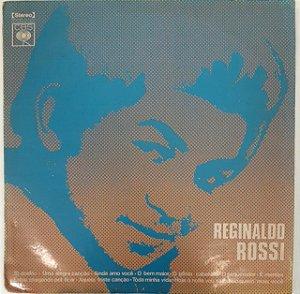 LP - Reginaldo Rossi (LP com autógrafo na contracapa)