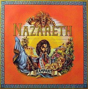 LP - Nazareth – Rampant - Importado (UK)