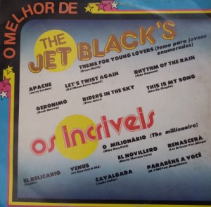 Lp - The Jet Black's / Os Incríveis - 1982