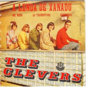 Comp - The Clevers ‎– A Lenda De Xanadu 1968