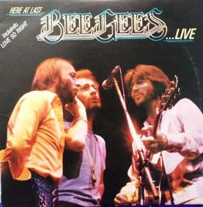 Lp - Bee Gees ‎– Here At Last - Live
