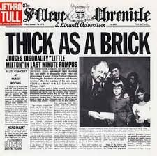 CD - Jethro Tull ‎– Thick As A Brick