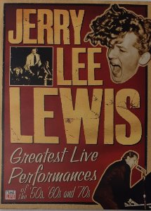 DVD - Jerry Lee Lewis ‎– Greatest Live Performances Of The '50s, '60s And '70s