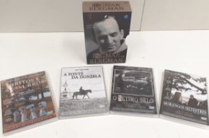DVD - Coleção Ingmar Bergman (Box 4 DVDs) - Novo Lacrado
