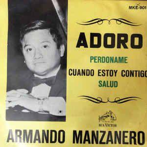 COMPACTO - Armando Manzanero Y Orquesta De Magallanes – Adoro