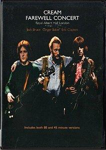 DVD - Cream – Farewell Concert Royal Albert Hall