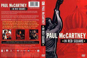 DVD Paul McCartney – In Red Square - Importado (US)