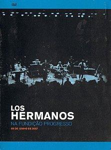 DVD Los Hermanos – Na Fundição Progresso - 09 De Junho De 2007 - DIGIPACK