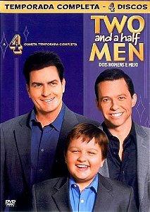 DVD - Two and a Half Men (4ª temporada completa - 4 discos)