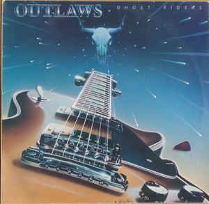 LP - Outlaws ‎– Ghost Riders