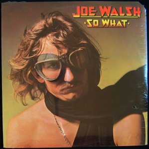 LP ‎– Joe Walsh ‎– So What