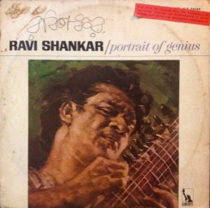 LP - Ravi Shankar ‎– Portrait Of Genius