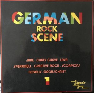 LP - Various ‎– German Rock Scene - 1