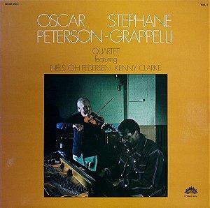 LP - Oscar Peterson - Stéphane Grappelli Quartet Vol. 1