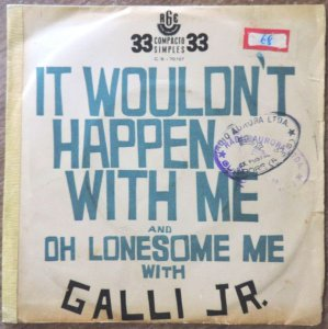Comp. - Galli Jr. ‎– It Wouldn't Happen With Me