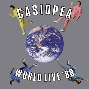 LP - Casiopea ‎– World Live '88