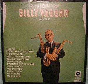LP - Billy Vaughn- 12 Sucessos de Billy Vaughn Volume 2