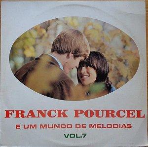 LP - Franck Pourcel Et Son Grand Orchestre – E Um Mundo De Melodias Vol.7