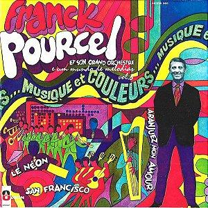 LP - Franck Pourcel Et Son Grand Orchestre – E Um Mundo de Melodias Vol.6
