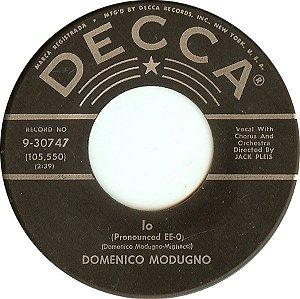 Compacto - Domenico Modugno – Stay Here With Me (Resta Cu Mme) / Io