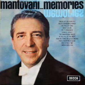 LP - Mantovani ‎– Memories
