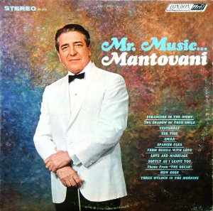 LP - Mantovani ‎– Mr. Music