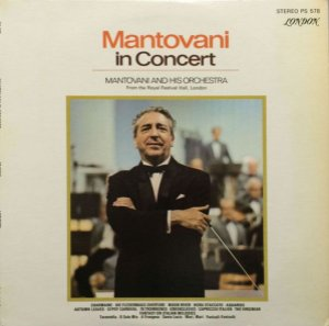 LP - Mantovani ‎and His Orchestra – In Concert