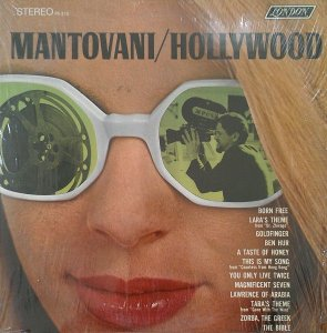 LP - Mantovani e sua Orquestra - Hollywood
