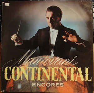 LP - Mantovani Continental Encores