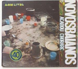 CD - Novos Baianos – Acabou Chorare (Digipack)