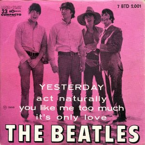 Compacto - The Beatles – Yesterday (4 faixas)