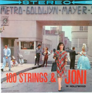 LP - Joni James – 100 Strings & Joni In Hollywood