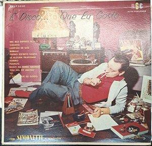 LP - Enrico Simonetti Com Orquestra RGE – É Disco Que Eu Gosto