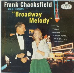 LP - Frank Chacksfield & His Orchestra – Broadway Melody