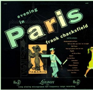 LP - Frank Chacksfield And His Orchestra – Evening In Paris