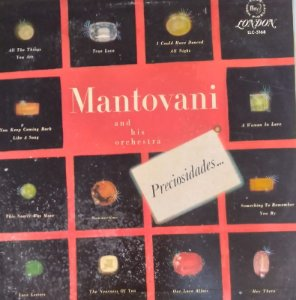 LP - Mantovani and his Orchestra - Preciosidades