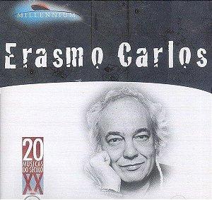 CD - Erasmo Carlos – Millennium (20 Músicas Do Século XX)