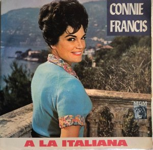 LP - Connie Francis ‎– A La Italiana