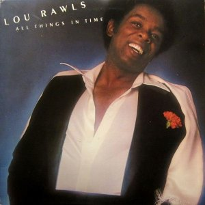 LP Lou Rawls ‎– All Things In Time - Importado (US)