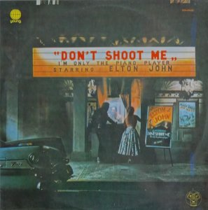 LP Elton John – Don't Shoot Me I'm Only The Piano Player