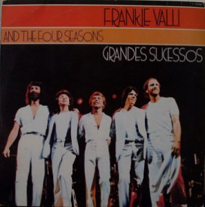 LP Frankie Valli and The Four Seasons ‎– Grandes Sucessos