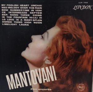 Lp - Mantovani -Film Encores