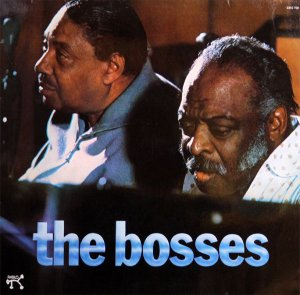 LP Count Basie e Joe Turner ‎– The Bosses