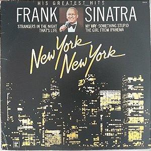 LP Frank Sinatra – New York New York: His Greatest Hits