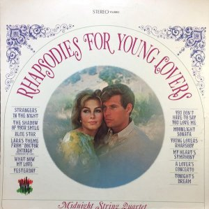 LP – Midnight String Quartet – Rhapsodies For Young Lovers