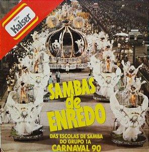 LP – Sambas De Enredo Das Escolas De Samba Do Grupo 1A - Carnaval 90 (Vários Artistas)